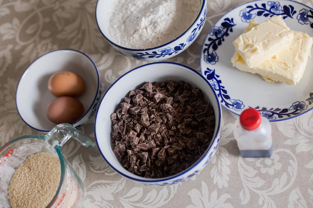 Receta galletas de chocolate chip - Jimena Agois
