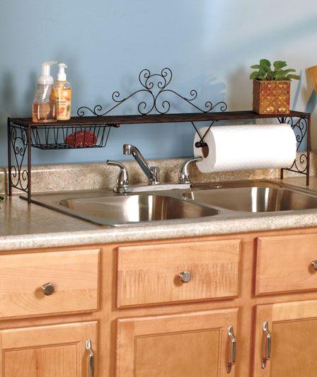 ideas para organizar el lavatorio de la cocina 1