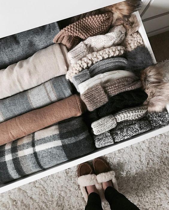 como organizar tejidos