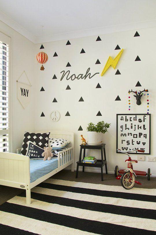 little boy's bedroom ideas - Ideas para la habitación de un niño pequeño 3