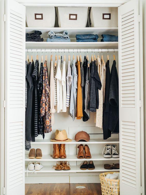 organiza tu closet
