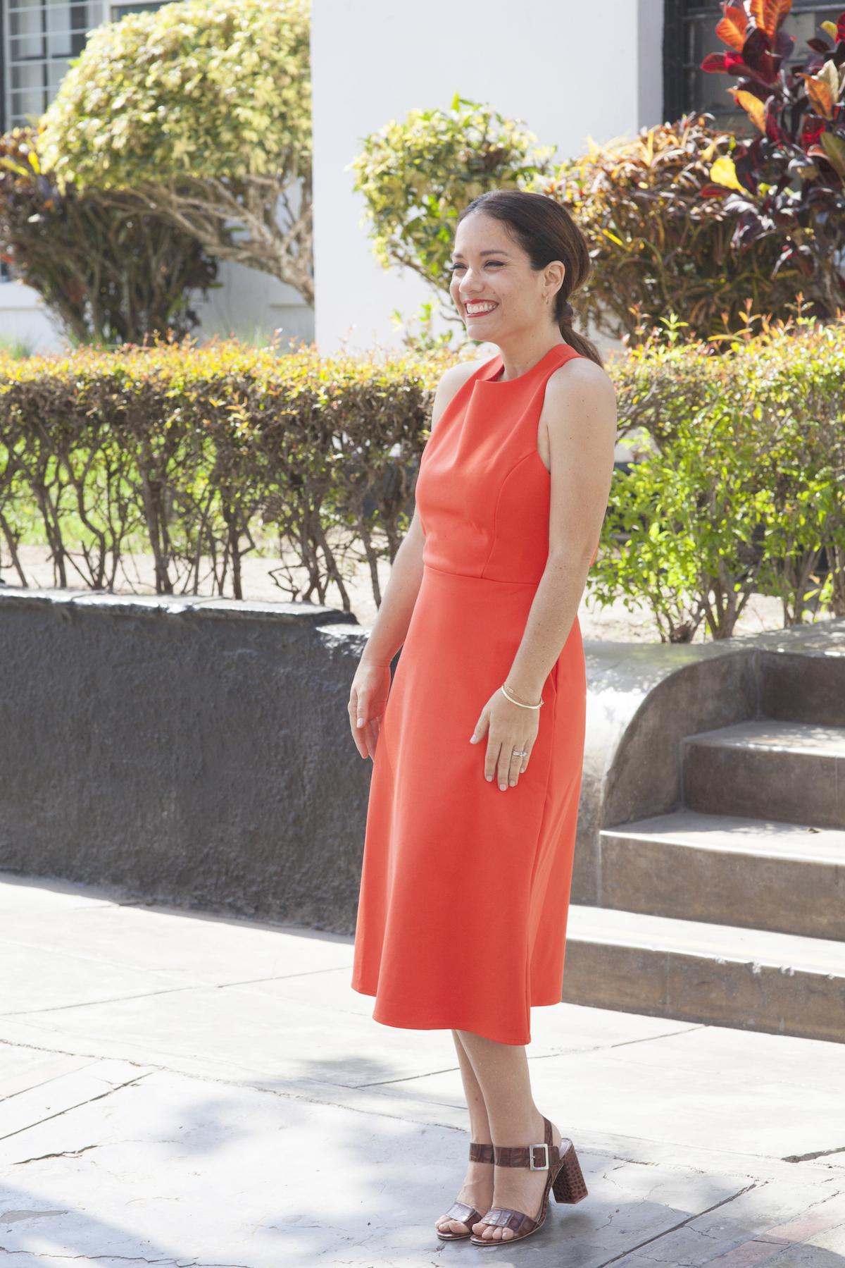 Banana Republic Orange dress NWT - La Vida de Serendipity 1 3
