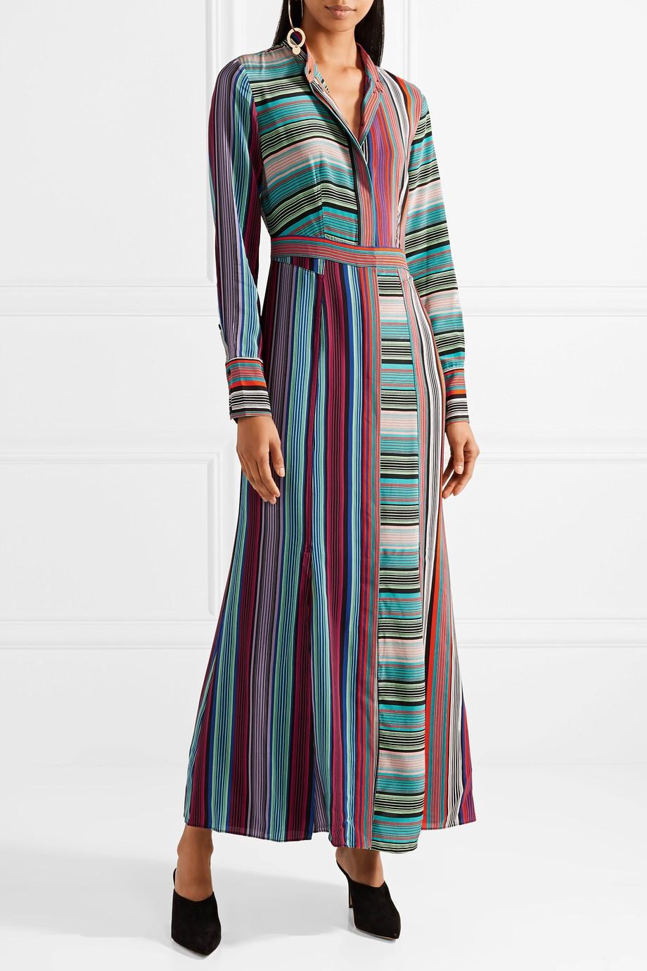 DVF fall 2018 print dress