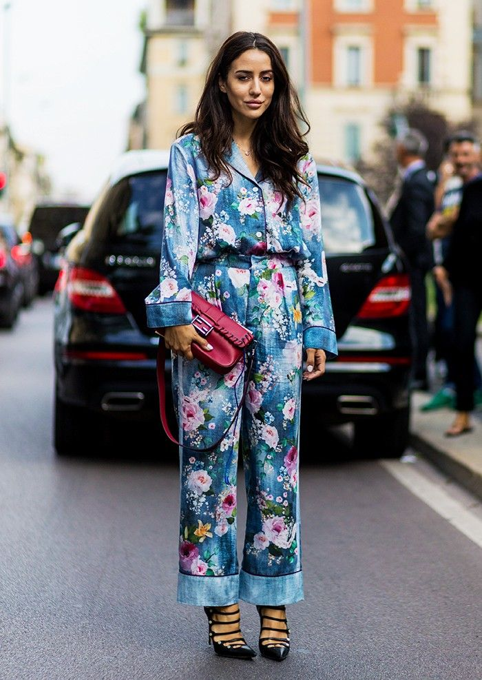 floral dress trend 2017 street style 8