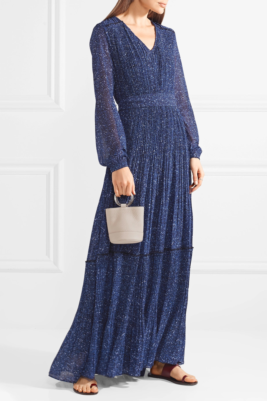 michael kors fall 2018 print dress