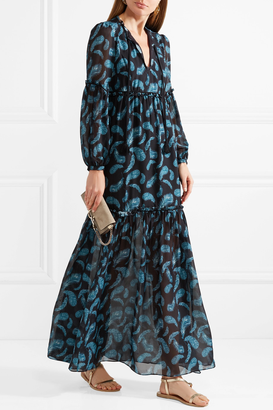 racheael zoe fall 2018 print dress