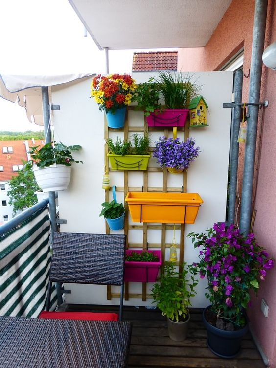 vetical balcony ideas