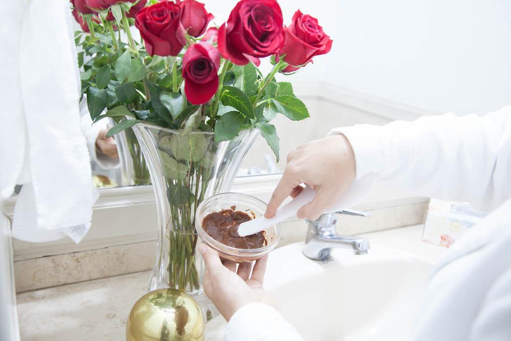 La Vida de Serendipity - Mascarilla de Cacao, yogurt y miel