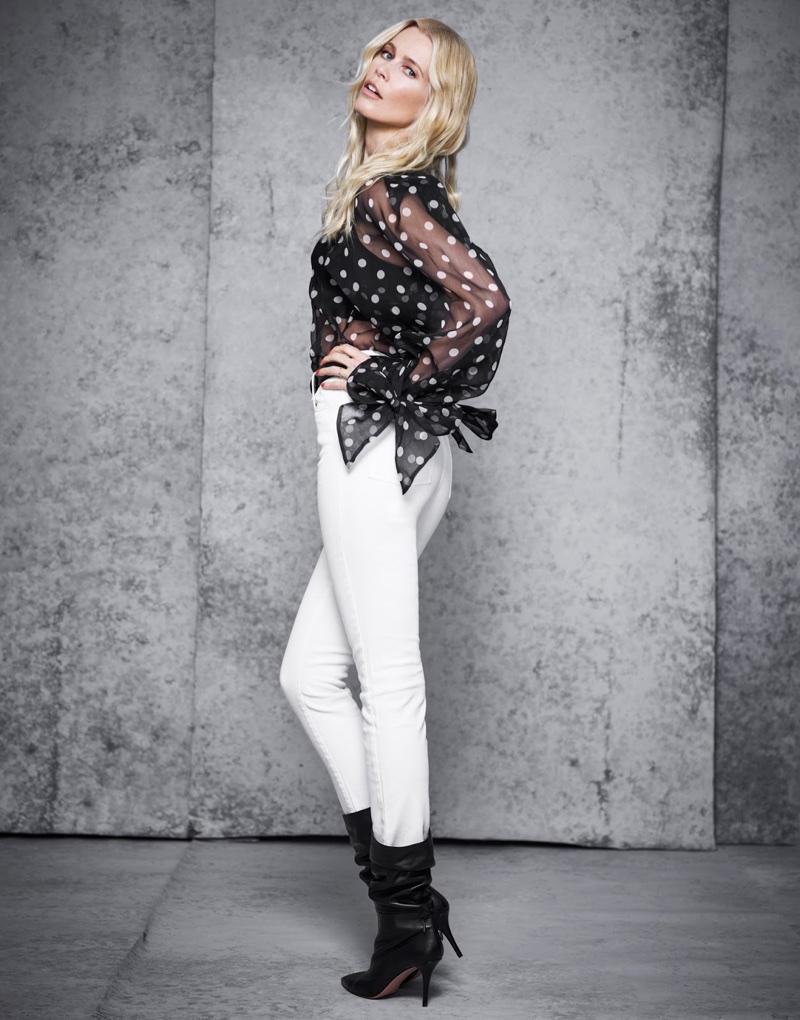 Claudia-Schiffer-netaporter polka dots 3