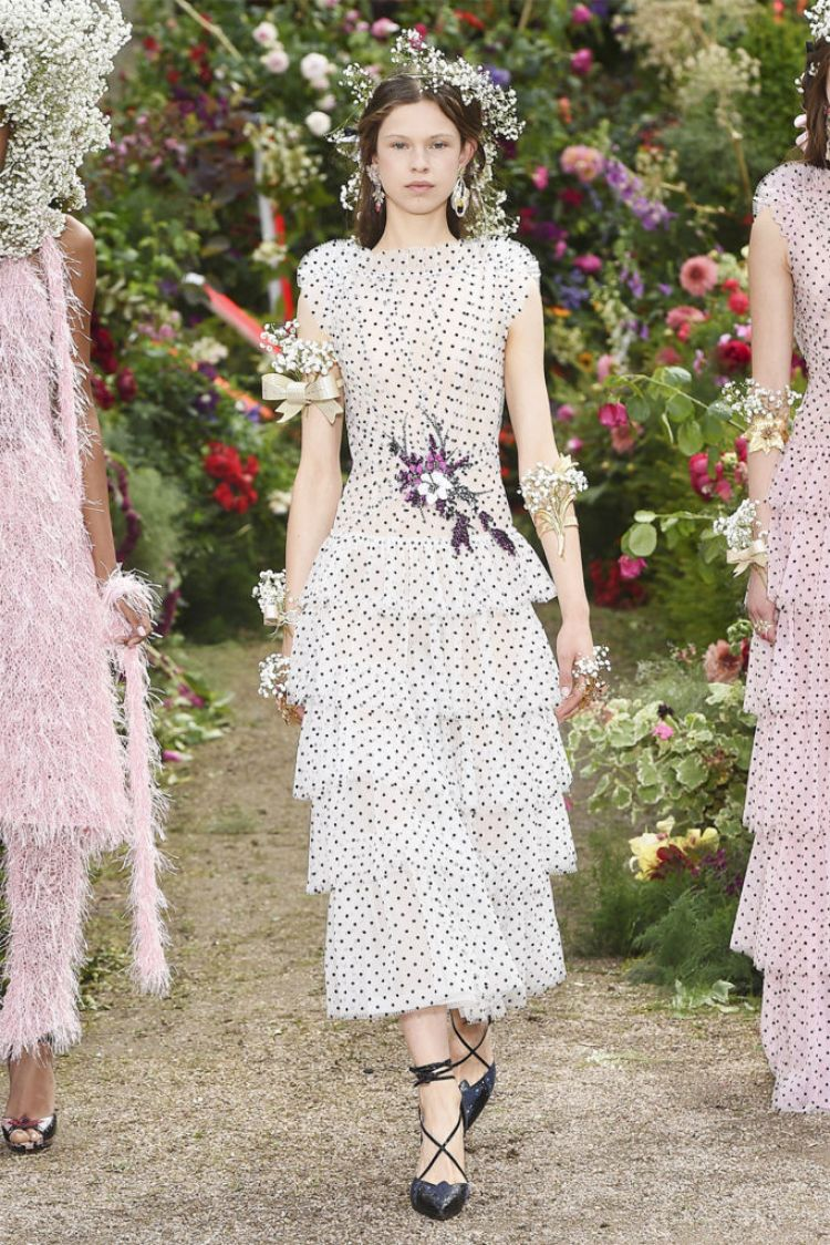 RODARTE SS2018 POLKA DOT DRESS