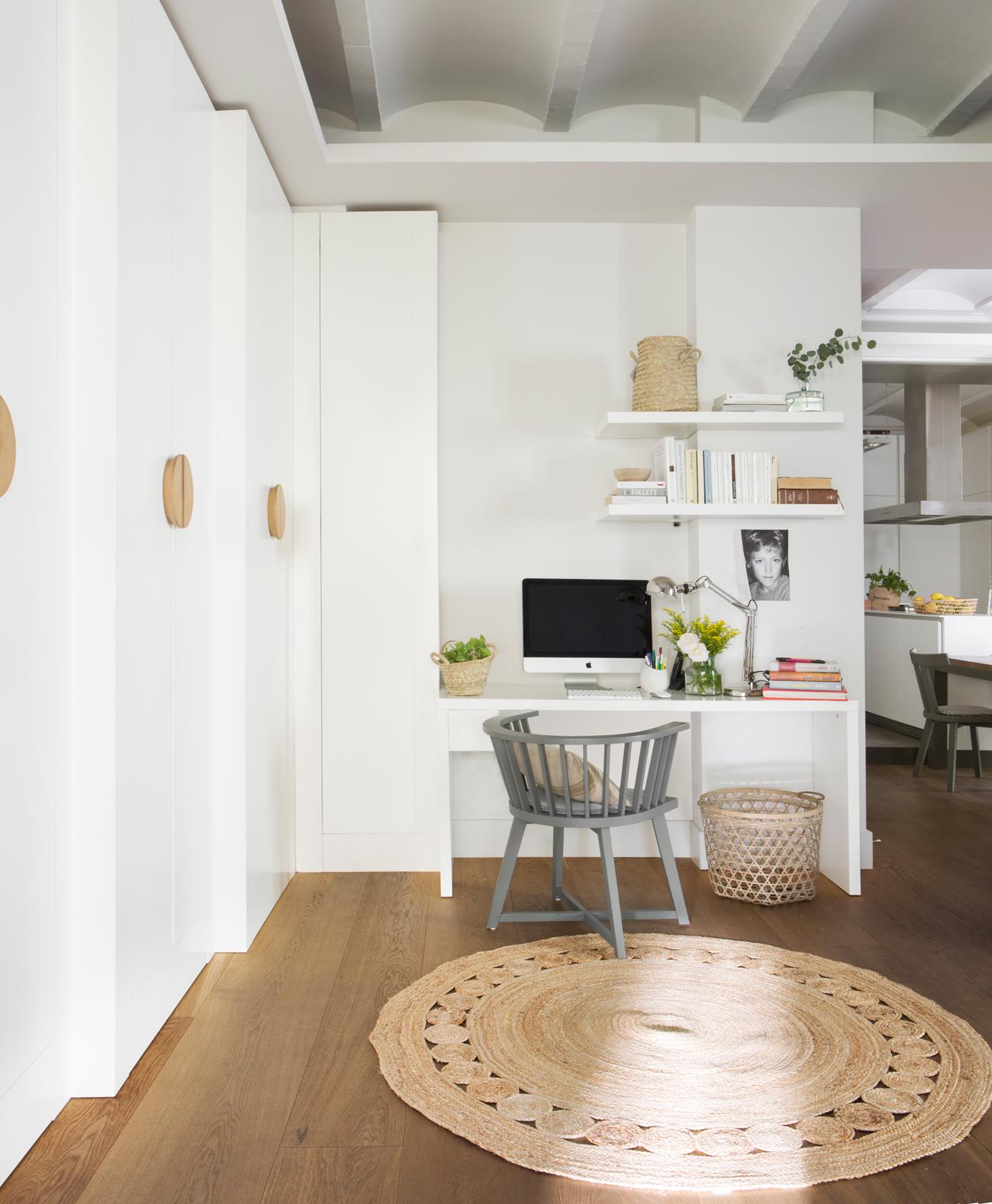 cómo tener una oficina en casa pequeña