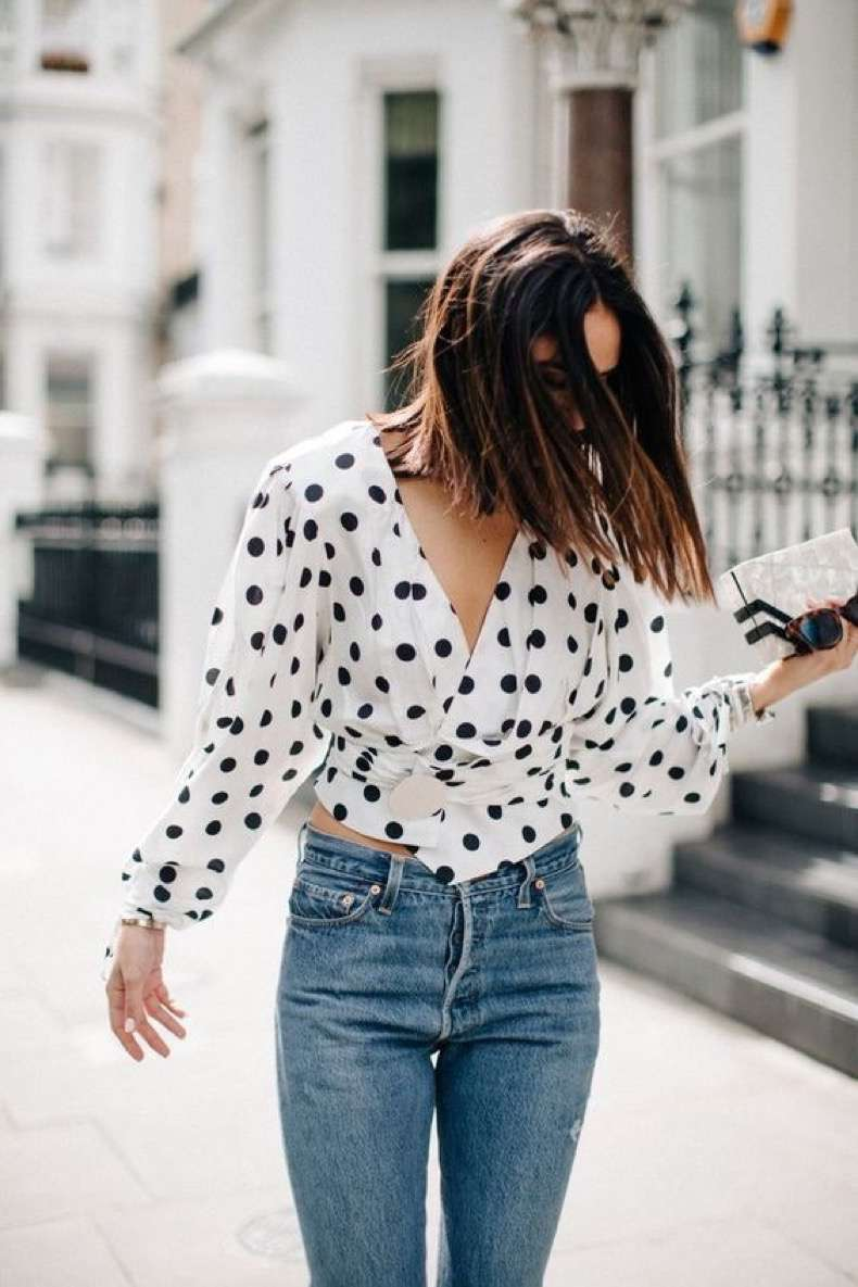 how to wear polka dots trend 2018 15