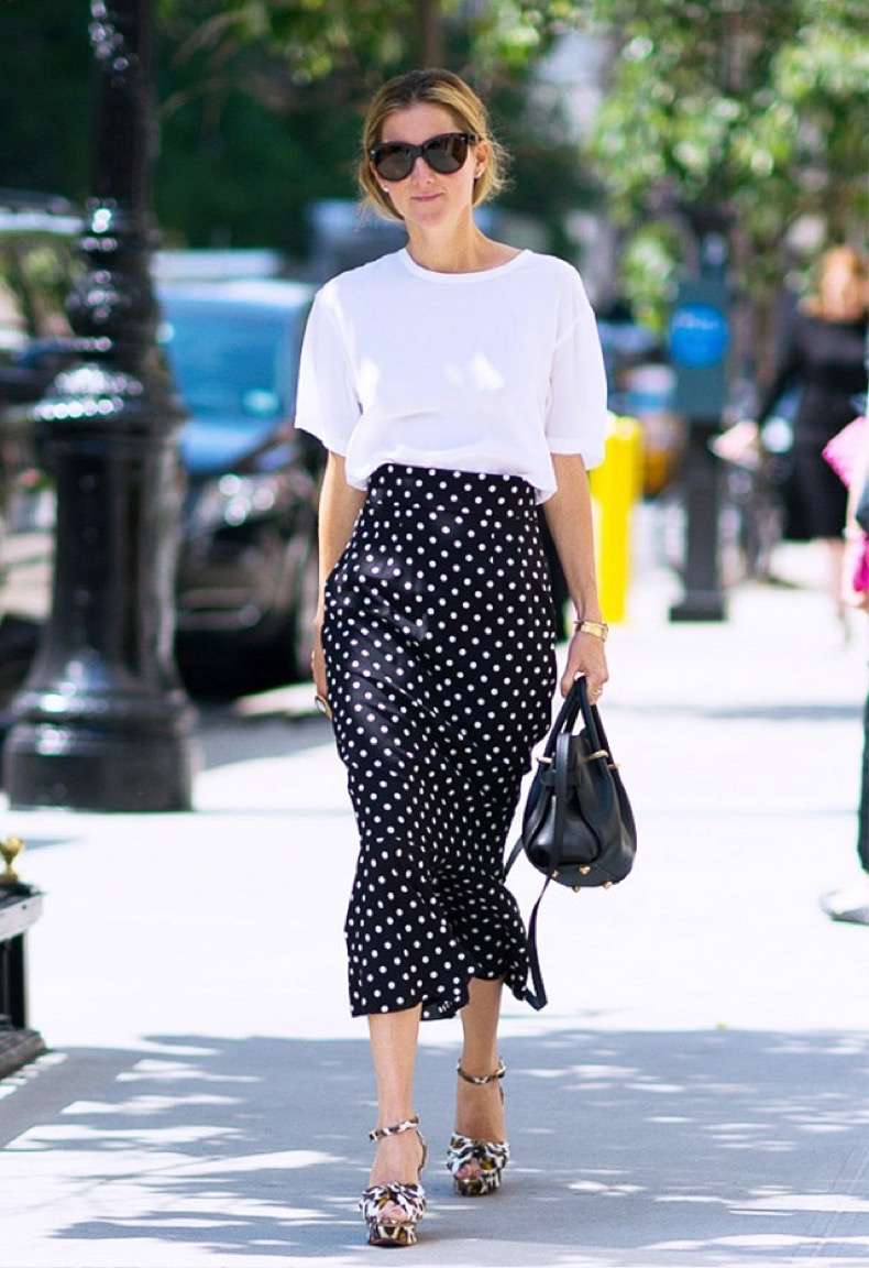 how to wear polka dots trend 2018 18