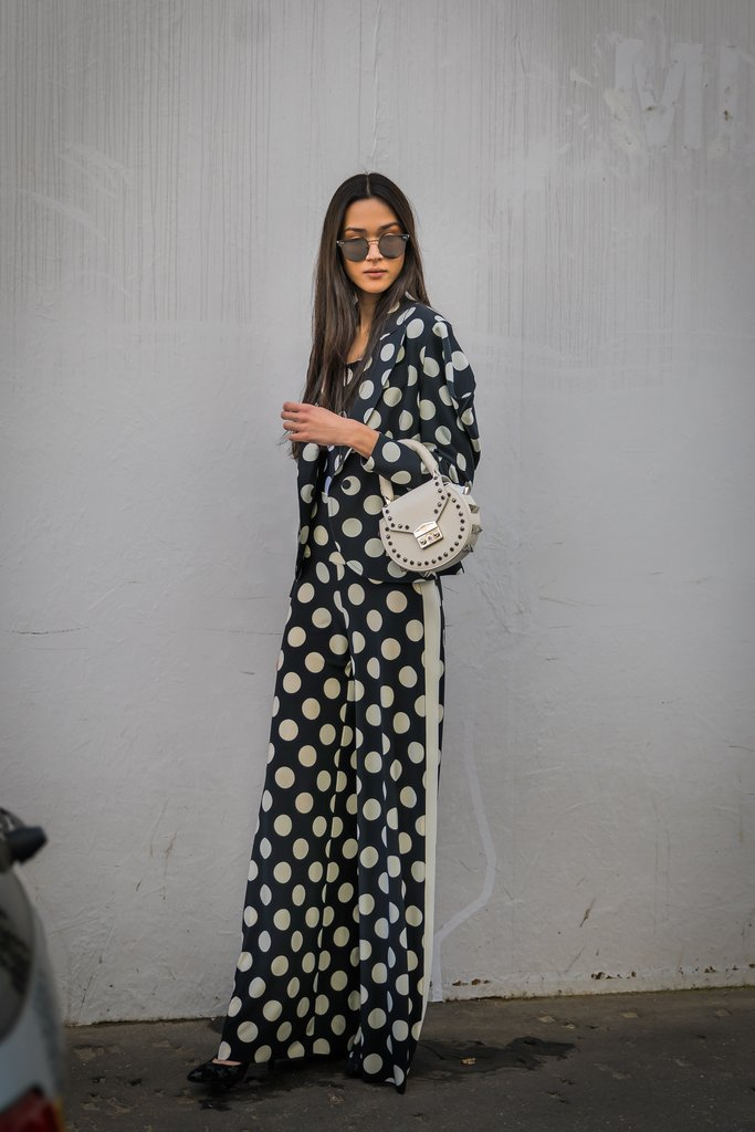 how to wear polka dots trend 2018 5