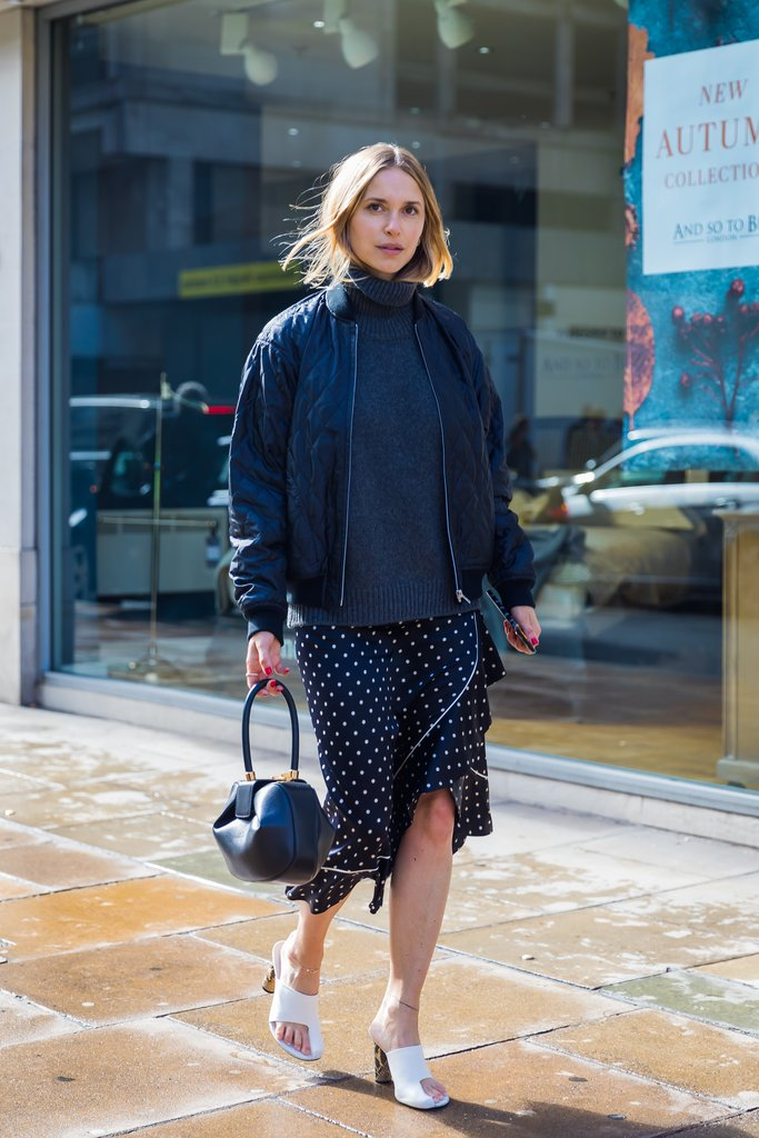 how to wear polka dots trend 2018 6