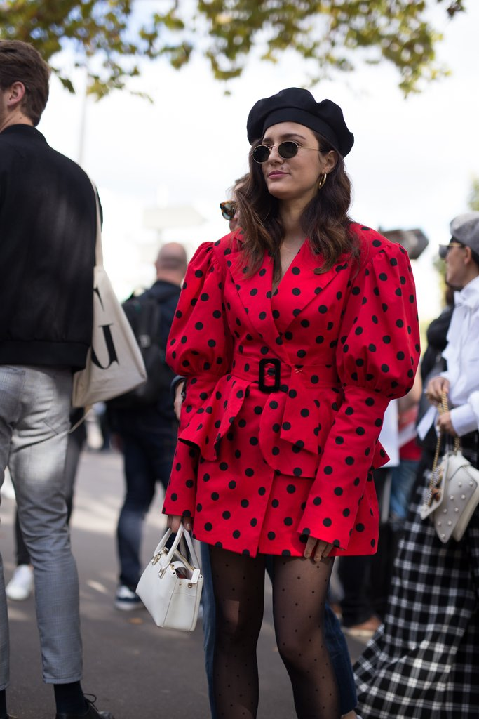 how to wear polka dots trend 2018 7
