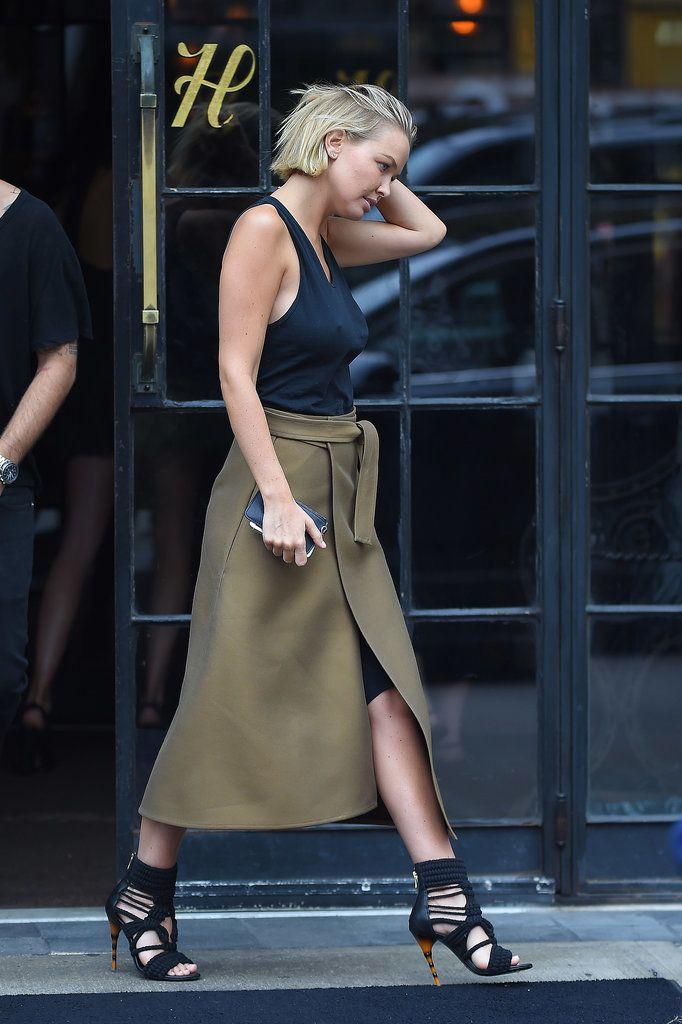 wrap effect skirt 1