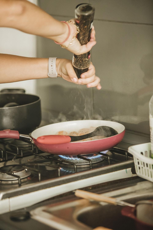 Fetticcinis al vino blanco con Langostinos - Jimena Agois - L VIda de serendipity - Cena de San Valentin.jpg 2