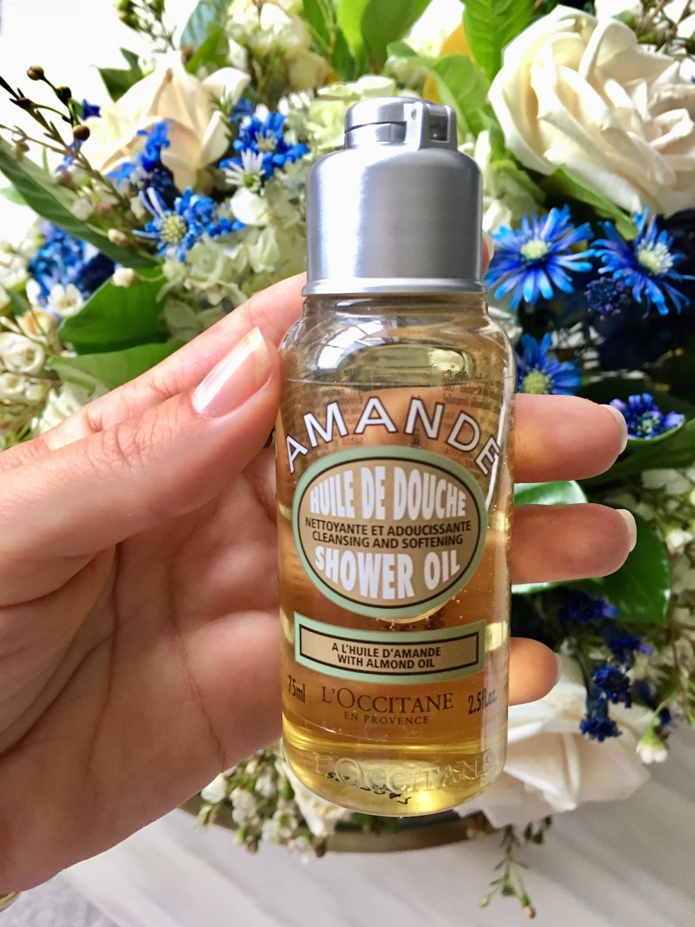 Gel aceite de ducha almendra Loccitane