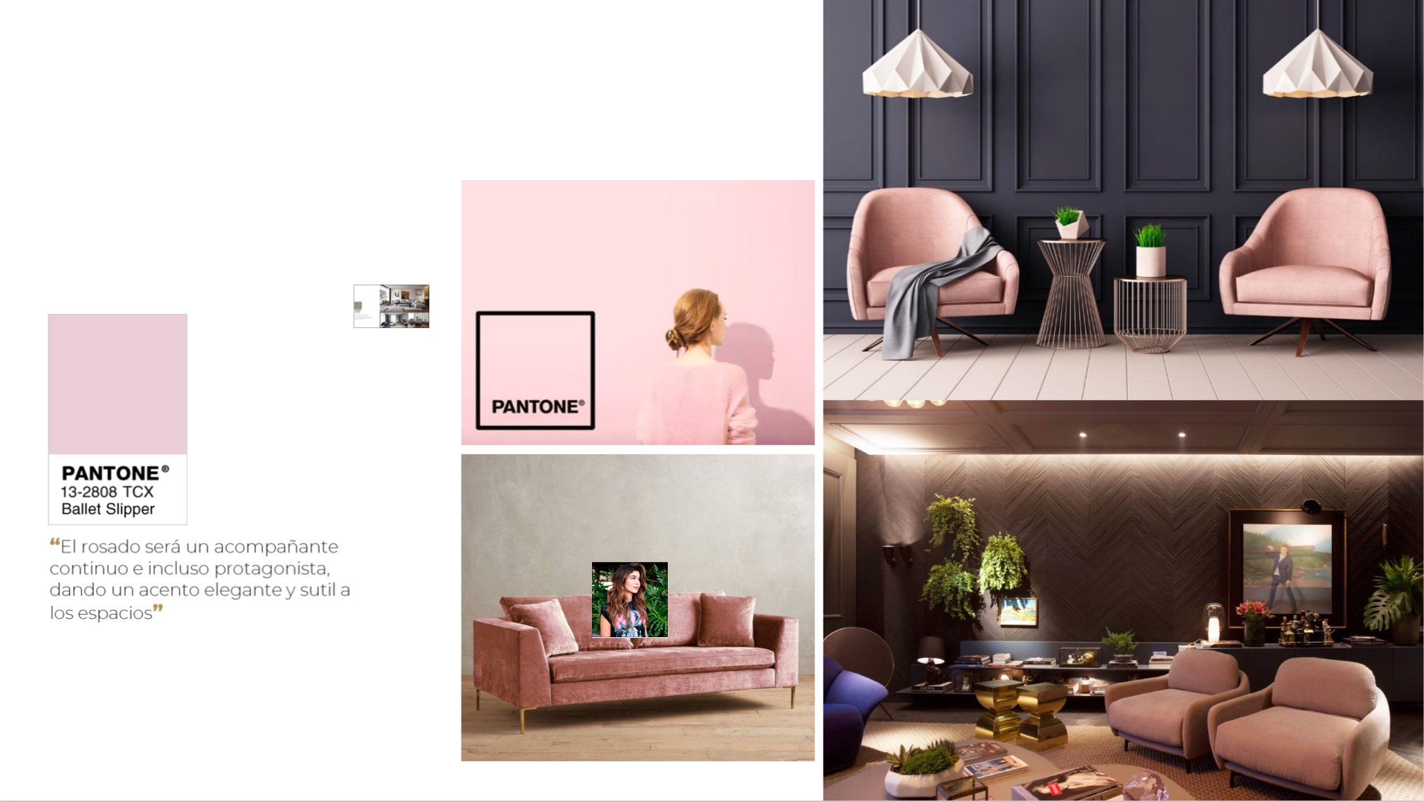 Pink  DecoStudio Color Trend 2018 decor