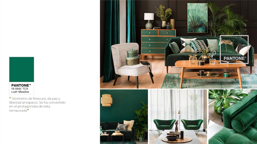 verde DecoStudio Color Trend 2018 decor