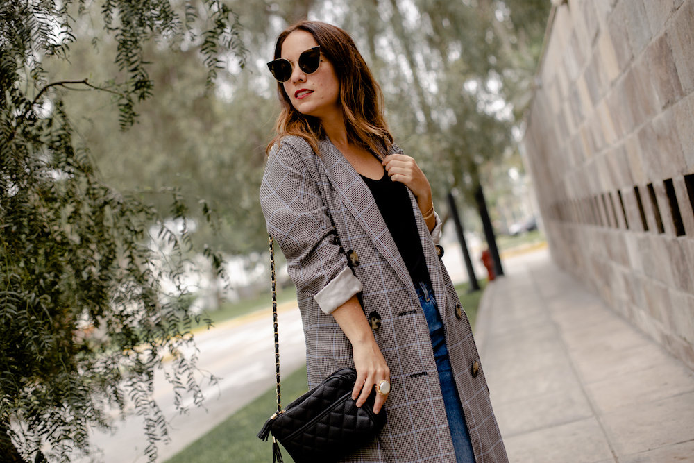 Blazer plaid Coat - La vida de Serendipity 3