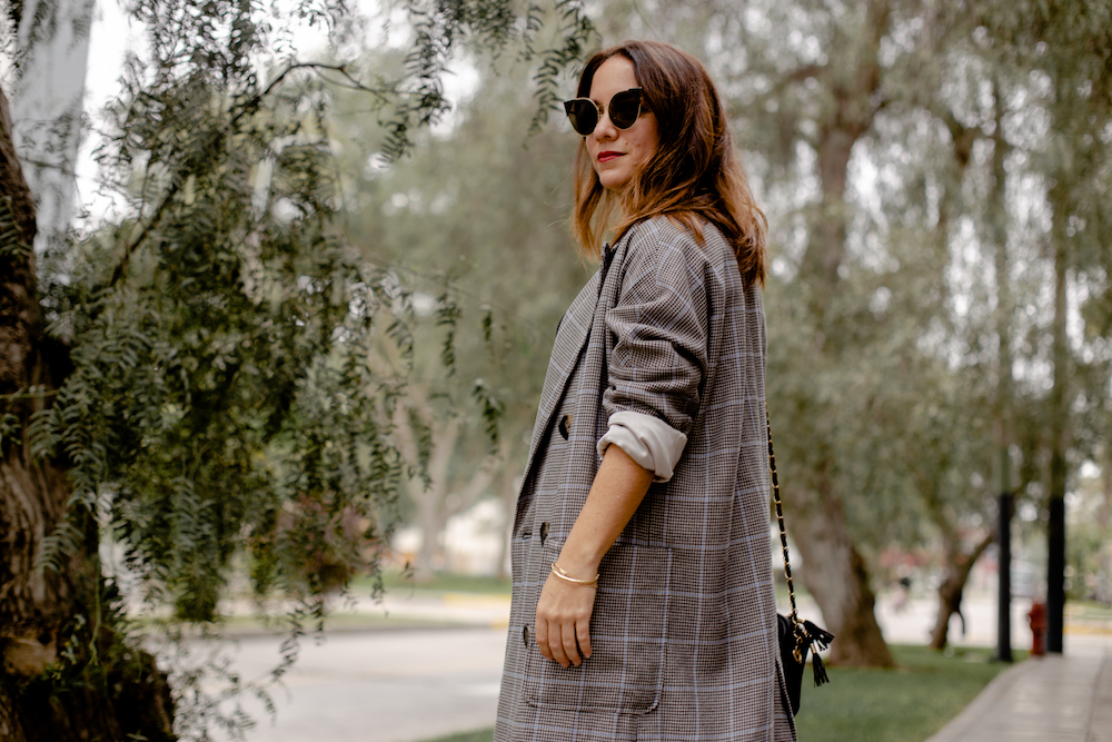 Blazer plaid Coat - La vida de Serendipity 4