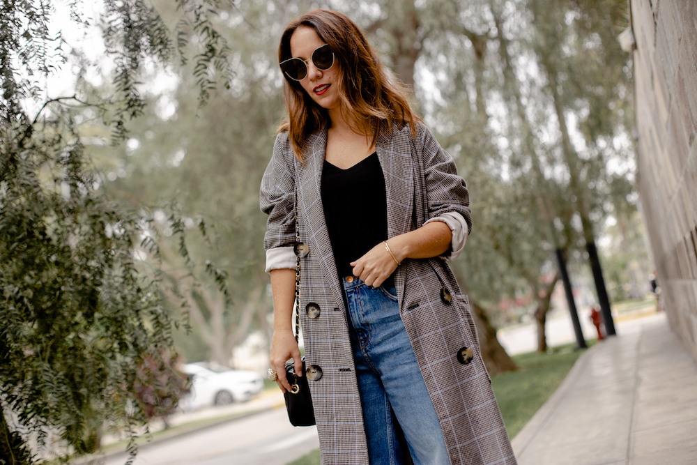 Blazer plaid Coat - La vida de Serendipity 5