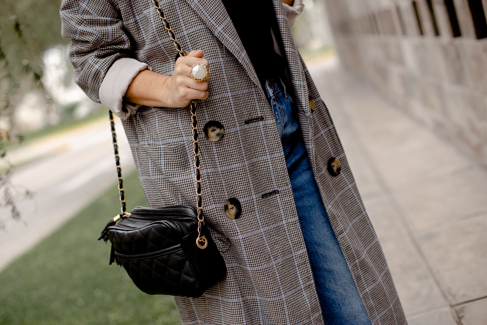 Blazer plaid Coat - La vida de Serendipity 6