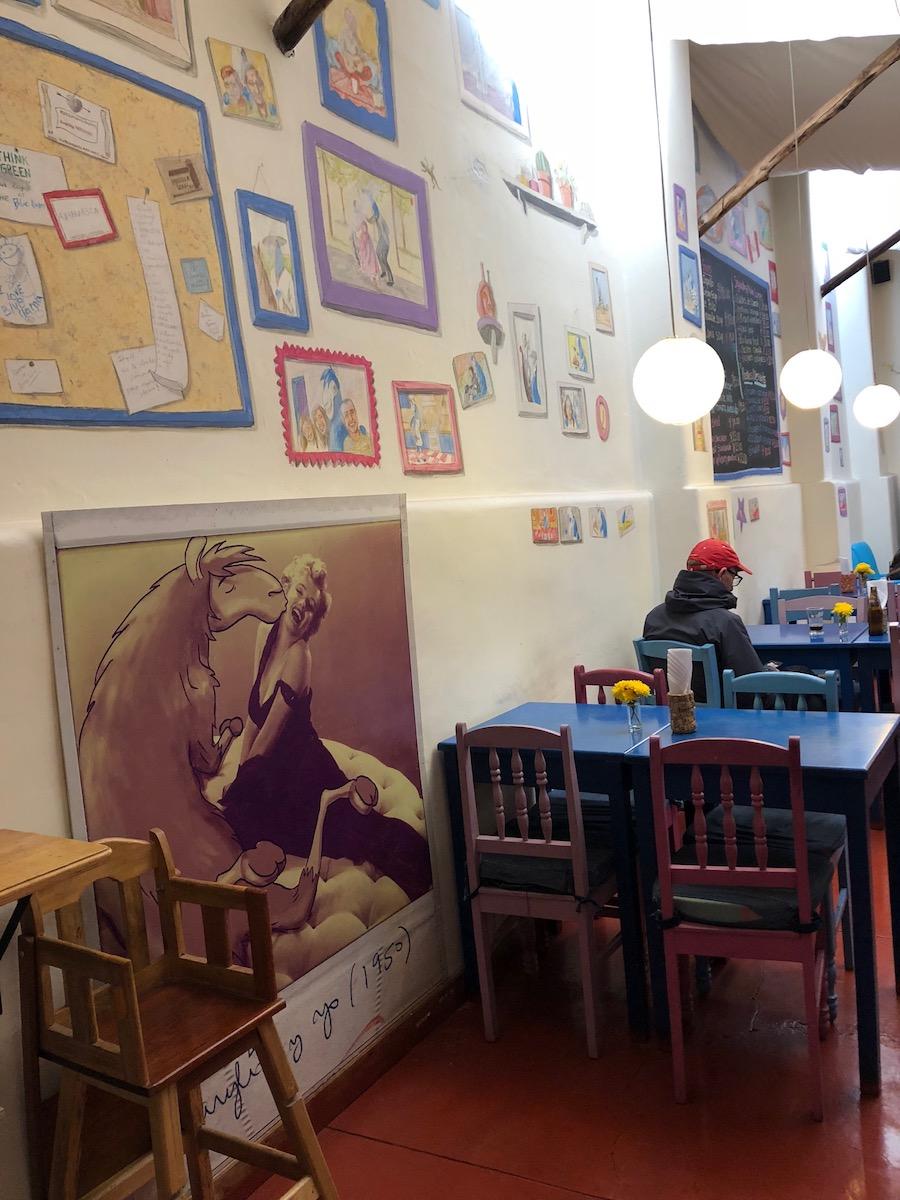 Blue Llama Cafe Pisac