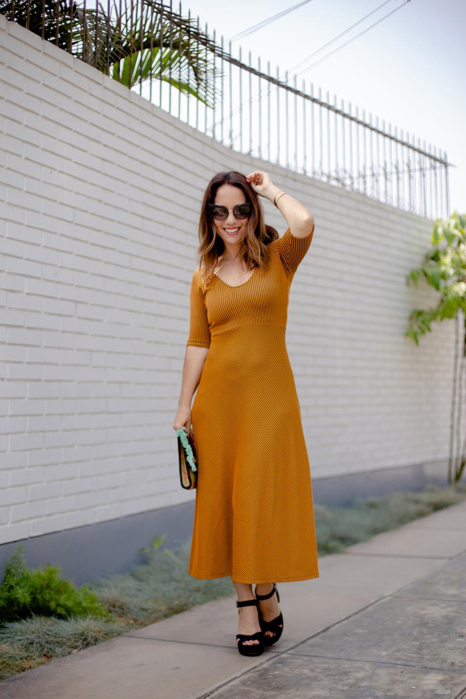 Zara mustrad dress