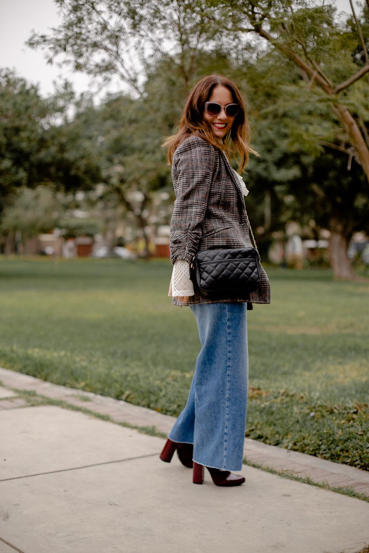la vida de serendipity Tweed Jacket - zara jeans - Zapaos Lola 2