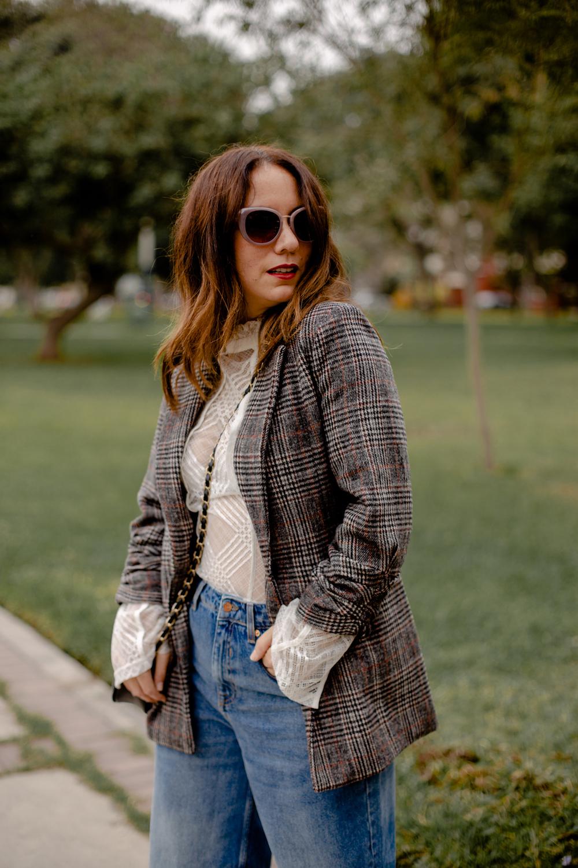 la vida de serendipity Tweed Jacket - zara jeans - Zapaos Lola 3