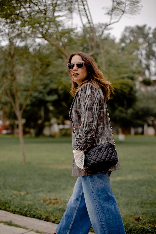 la vida de serendipity Tweed Jacket - zara jeans - Zapaos Lola