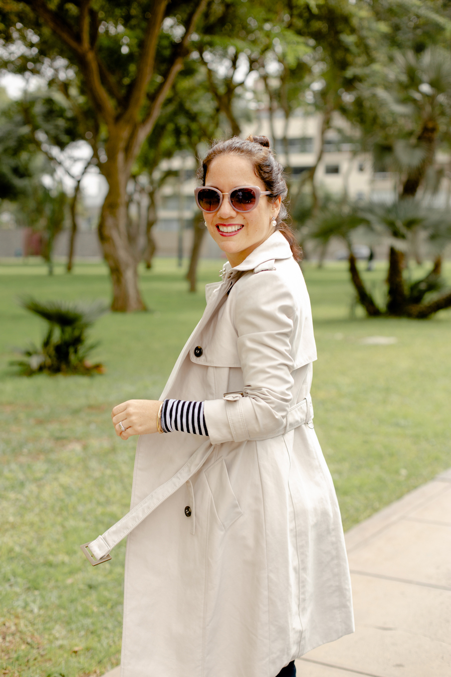 How to wear a trench Coat - La Vida de Serendipity