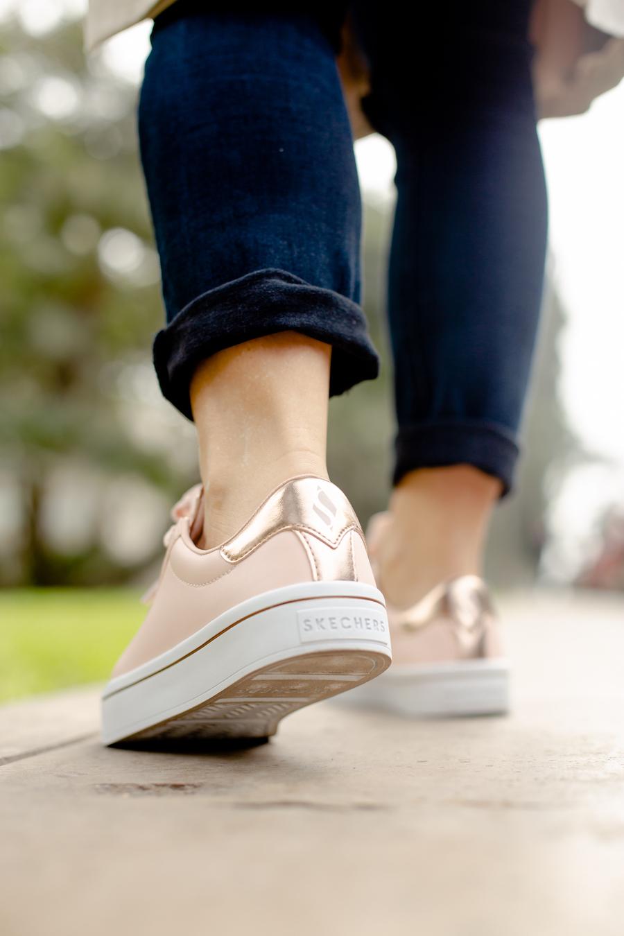 La Vida de Serendipity  Skechers Pink Sneakers 1