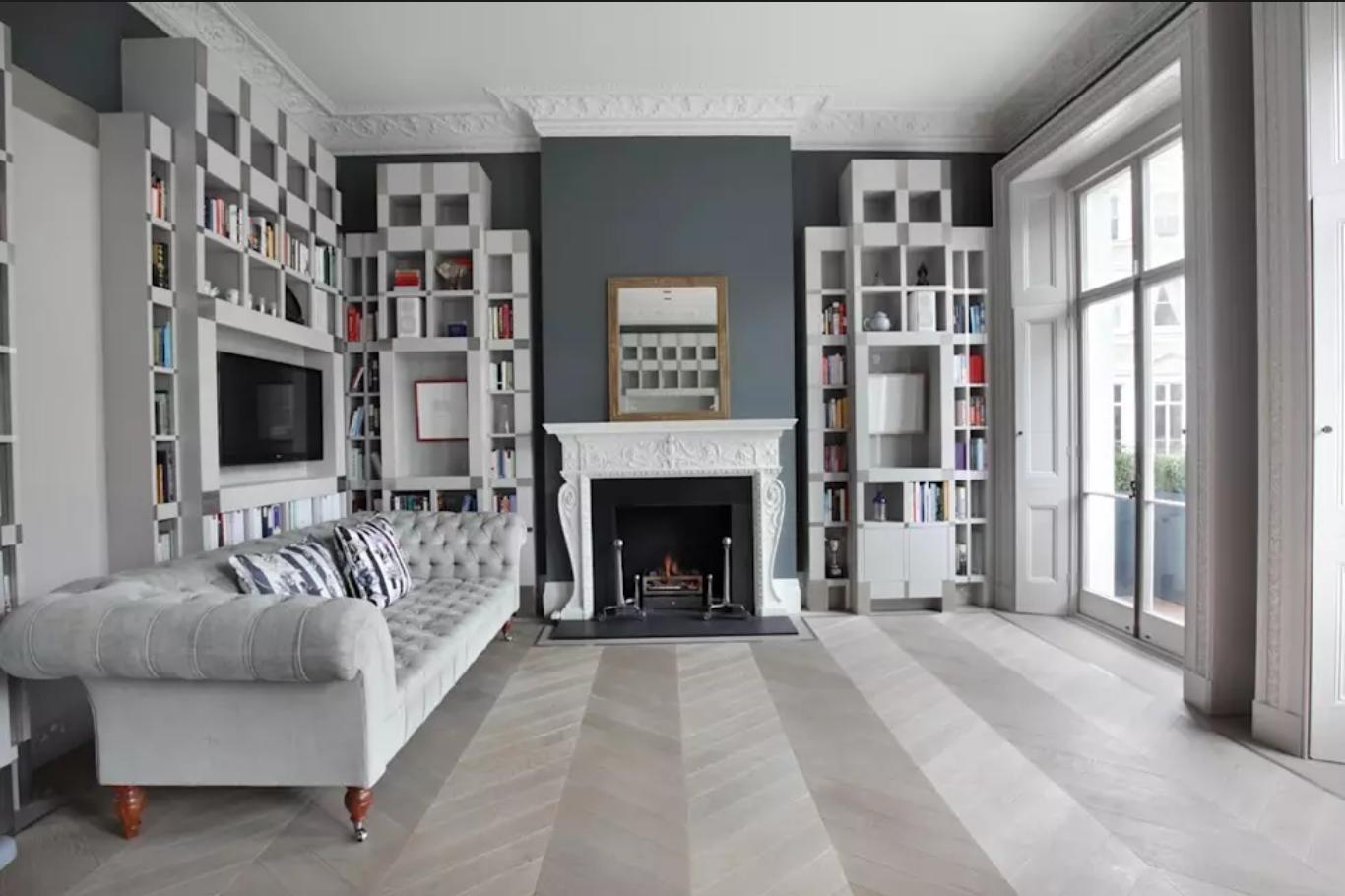 diseño Chevron - pisos de madera