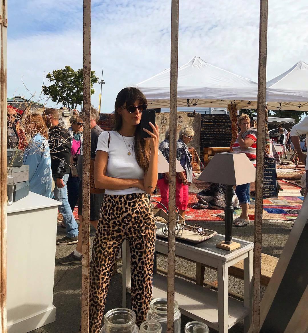leopard print pants 2018