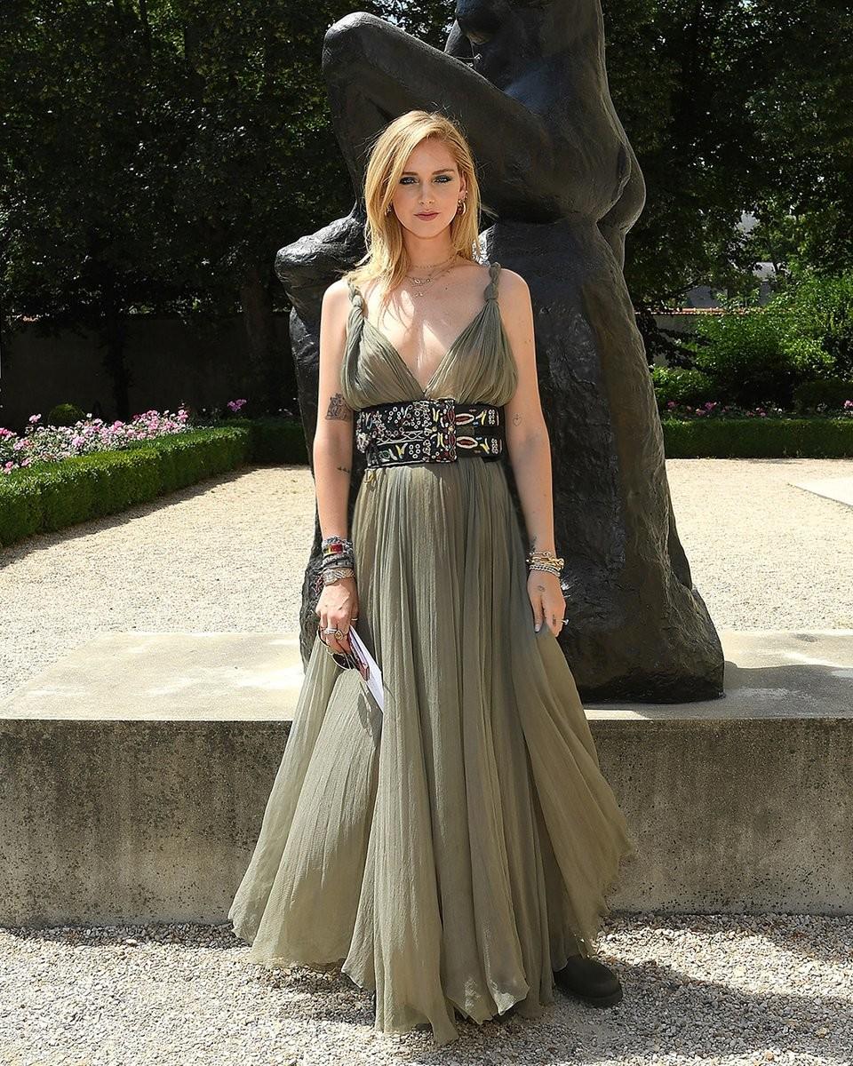 Chiara Ferragni Dior Show 2018