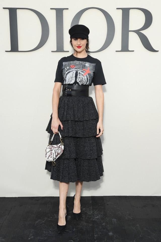 Dior show 2018 belt trend
