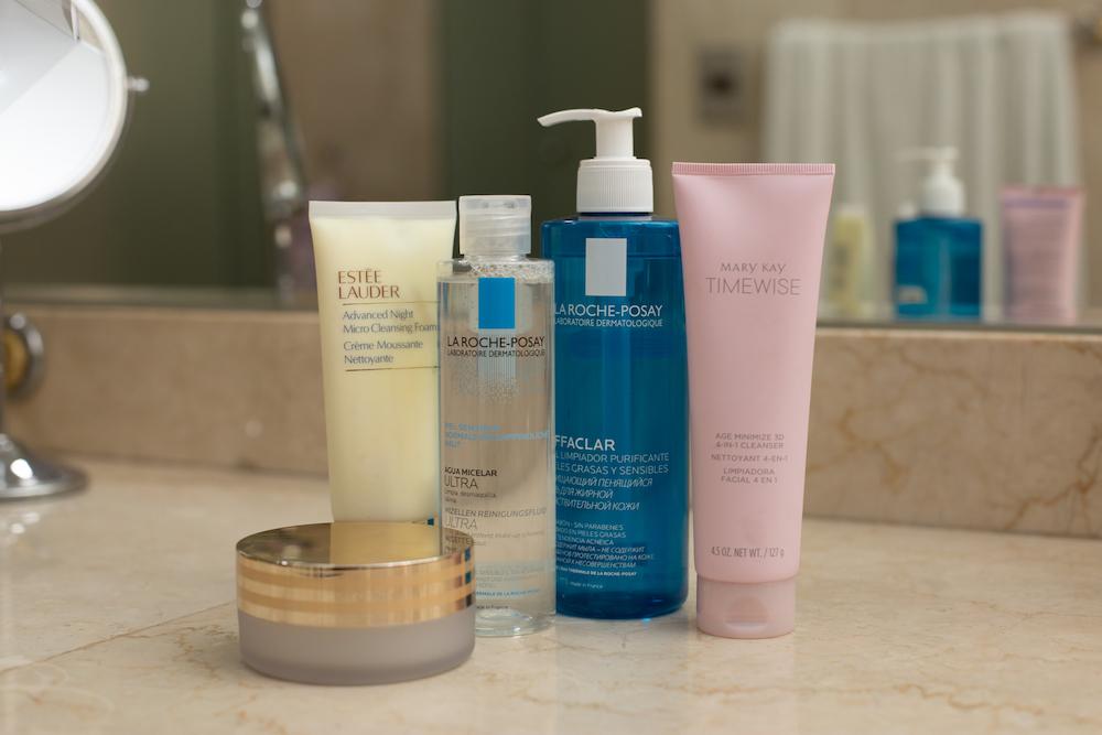 Facial cleaners Estée Lauder Mary Kay La Roche Posay 1