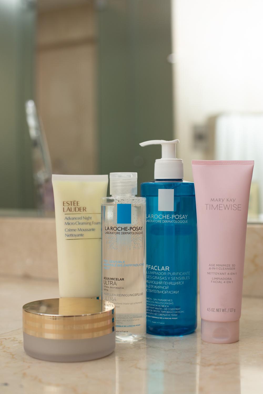 Facial cleaners Estée Lauder Mary Kay La Roche Posay