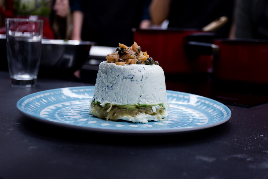 cebollas caramelizadas con quesito Ximena Llosa Chef