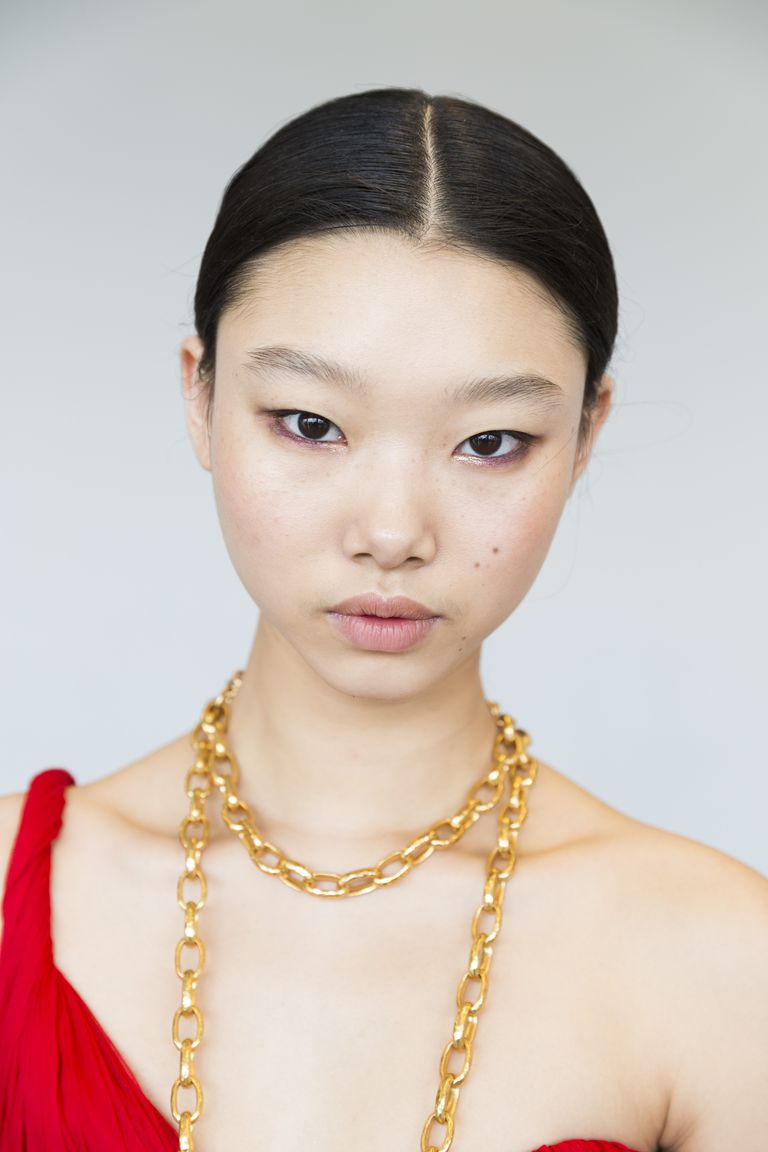 Oscar de la Renta Spring 2019 - beauty looks