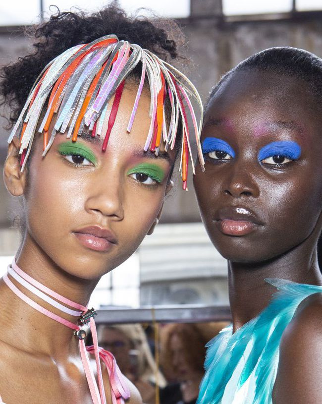 byblos Spring 2019 - beauty looks