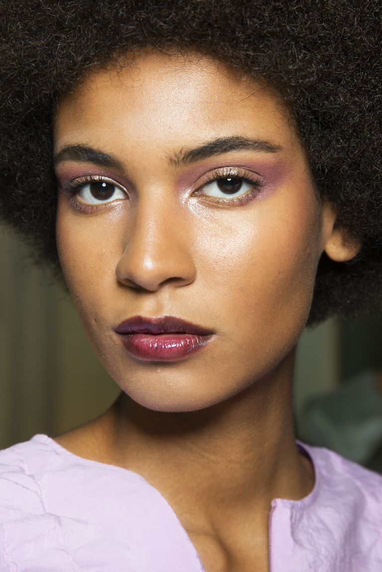 giorgio armani Spring 2019 - beauty looks