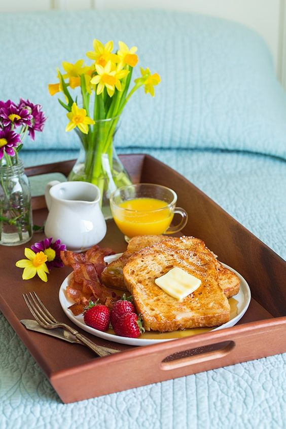 desayuno en cama para mamá