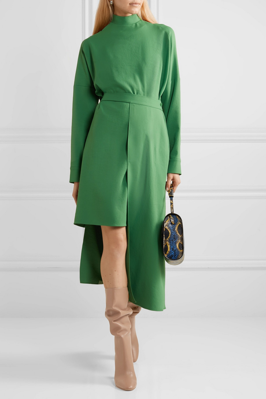 Spring Boots Trend 2019 - Boots with skirts Gianvito Rossi