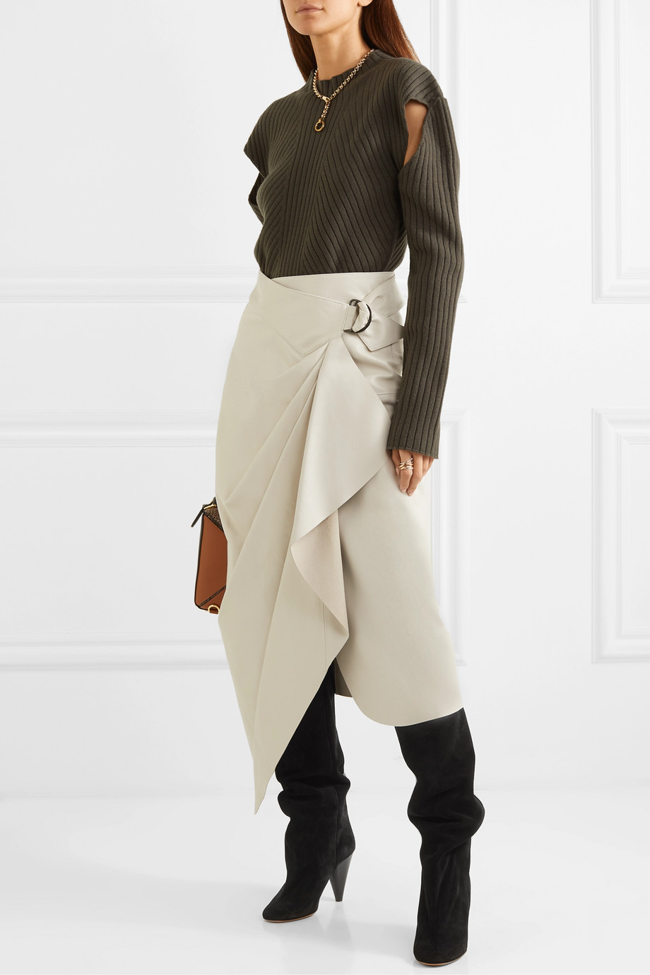 Spring Boots Trend 2019 - Boots with skirts Isabel Marant
