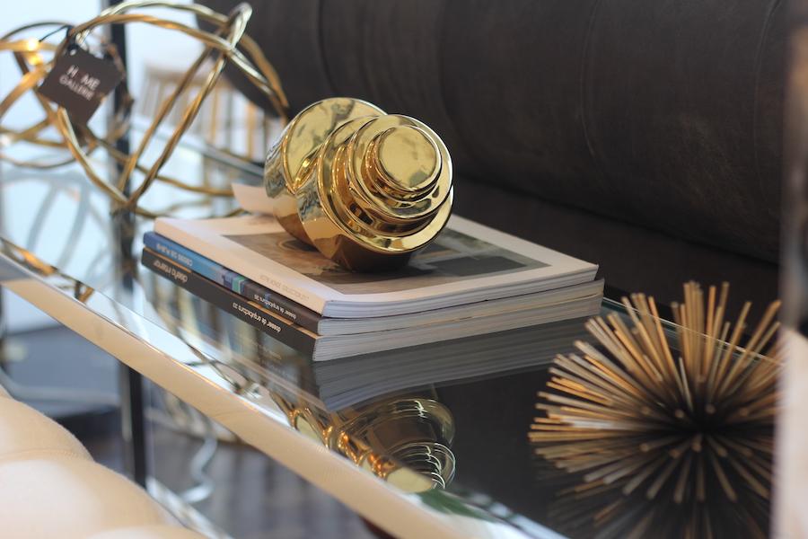 cómo decorar con dorado - adornos dorados para la casa 1